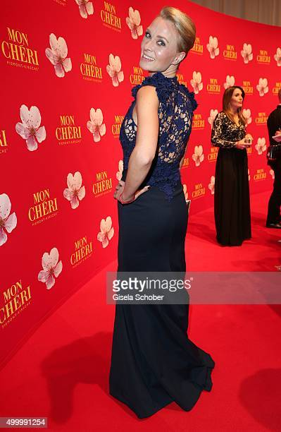 Britta Hofmann during the Mon Cheri Barbara Tag 2015 at Postpalast on December 4 2015 in Munich Germany