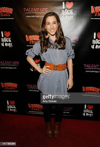 Brittani Brant attends the Shamrock and Roll Concert for St Jude's Children's Hospital on March 17 2012 in Los Angeles California