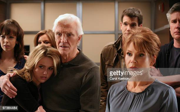 CHILDREN Brittany Allen Natalie Hall Bobbie Eakes David Canary Adam Mayfield Julia Barr and Michael E Knight in a scene that airs the week of March 8...