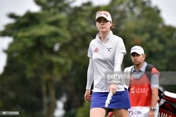 Brittany Altomare of USA during day two of the Sime Darby LPGA Malaysia at TPC Kuala Lumpur on October 27 2017 in Malaysia