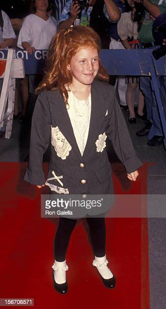 Brittany Boyd attends the premiere of 'Lassie' on July 13 1994 at the Festival Theater in New York City