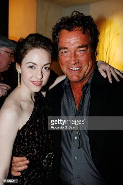 Brittany Curran and John Callahan attend the SAG Awards After Party Charity Benefit For The Victims Of Haiti on January 23 2010 in Los Angeles...