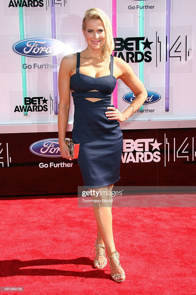 Brittany Daniel attends the 'BET AWARDS' 14 held at Nokia Theatre L.A. Live on June 29, 2014 in Los Angeles, California.
