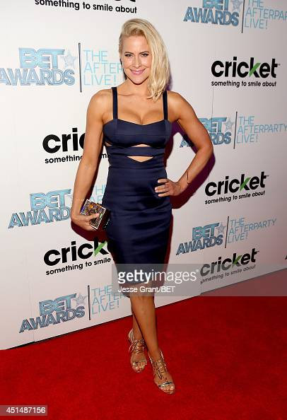 Brittany Daniel attends the BET AWARDS '14 post show at Nokia Theatre LA LIVE on June 29 2014 in Los Angeles California