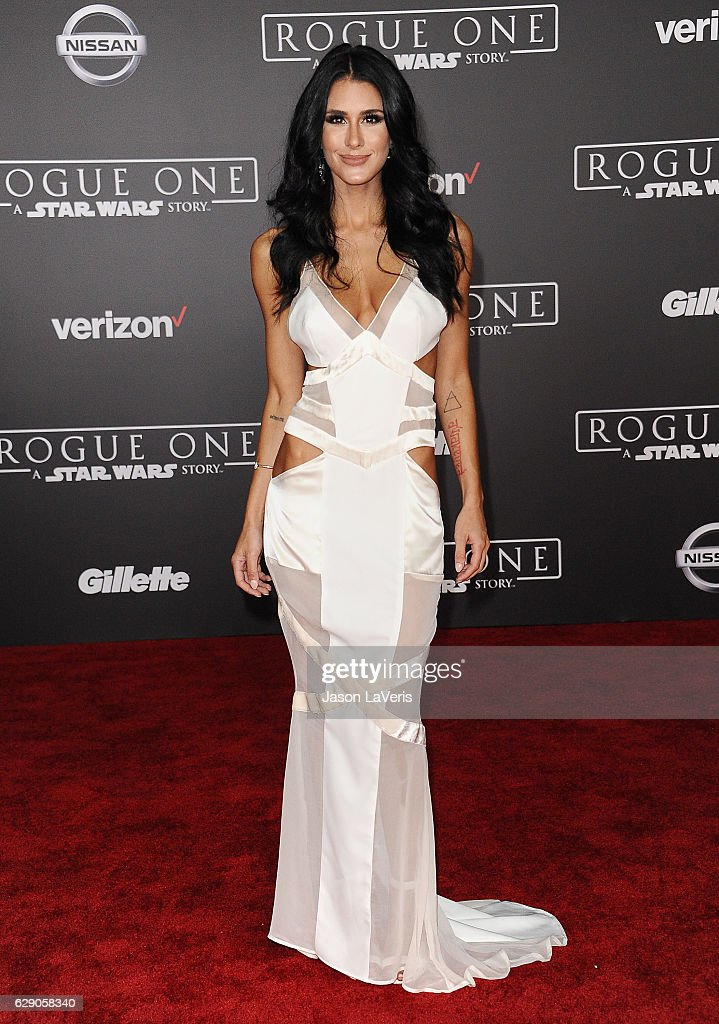 Brittany Furlan attends the premiere of 'Rogue One: A Star Wars Story' at the Pantages Theatre on December 10, 2016 in Hollywood, California.