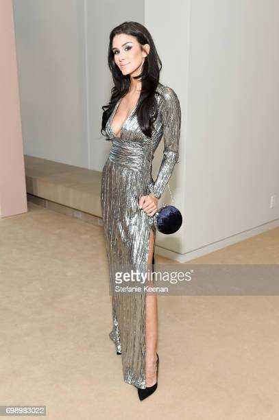 Brittany Furlan celebrates The Launch Of KKW Beauty on June 20 2017 in Los Angeles California