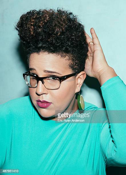 Brittany Howard of Alabama Shakes is photographed for Billboard Magazine on March 27 2015 in New York City