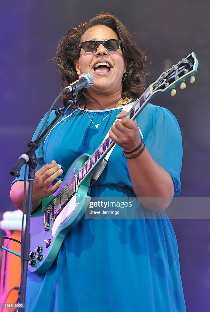 <a gi-track='captionPersonalityLinkClicked' href=/galleries/search?phrase=Brittany+Howard&family=editorial&specificpeople=8343255 ng-click='$event.stopPropagation()'>Brittany Howard</a> of Alabama Shakes performs on Day 2 of Bottle Rock Napa Valley Festival at Napa Valley Expo on May 10, 2013 in Napa, California.