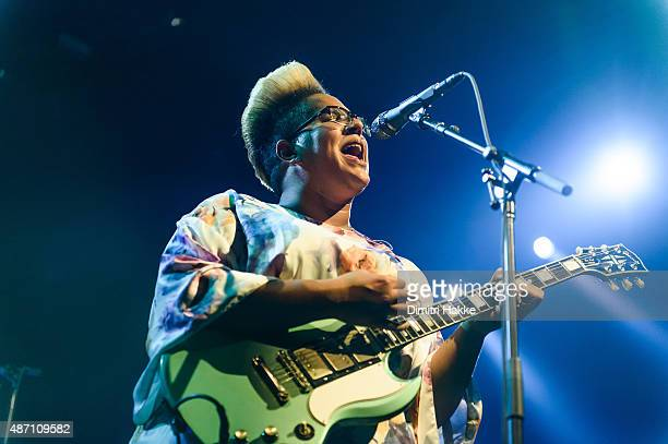Brittany Howard of Alabama Shakes performs on stage at Port Of Rotterdam North Sea Jazz Festival on July 10 2015 in Rotterdam Netherlands