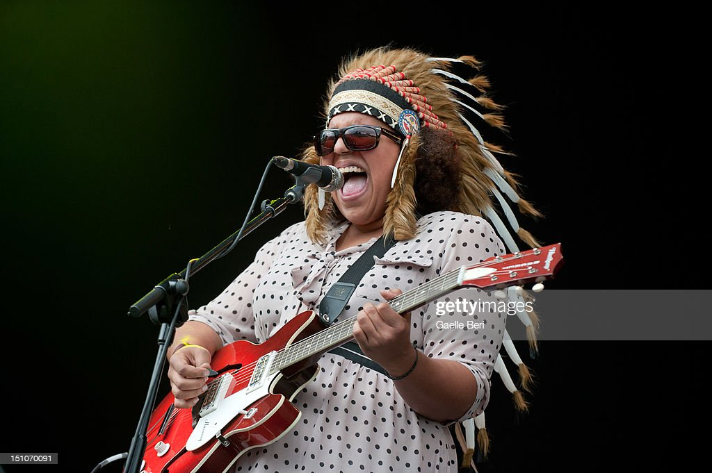 Brittany Howard of Alabama Shakes performs on stage during Electric Picnic on August 31, 2012 in Stradbally, Ireland.
