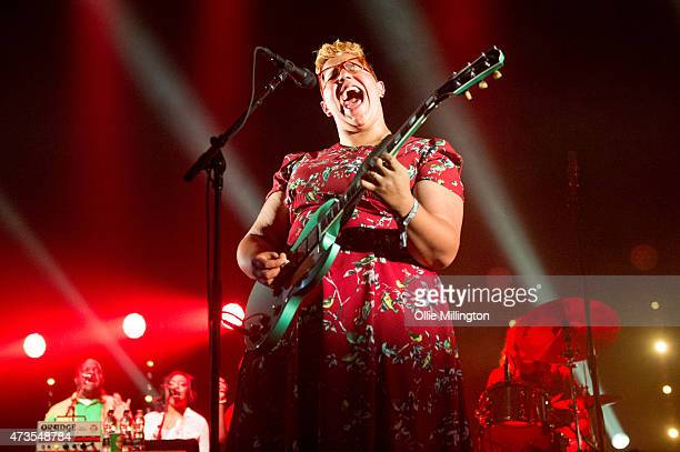 Brittany Howard of Alabama Shakes performs onstage during day 2 of The Great Escape Festival on May 15 2015 in Brighton United Kingdom