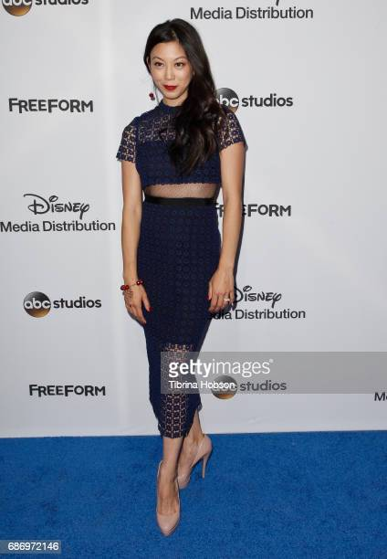 Brittany Ishibashi attends the 2017 ABC/Disney Media Distribution International Upfronts at Walt Disney Studio Lot on May 21 2017 in Burbank...
