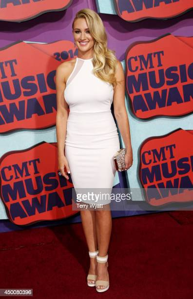 Brittany Kerr attends the 2014 CMT Music awards at the Bridgestone Arena on June 4 2014 in Nashville Tennessee