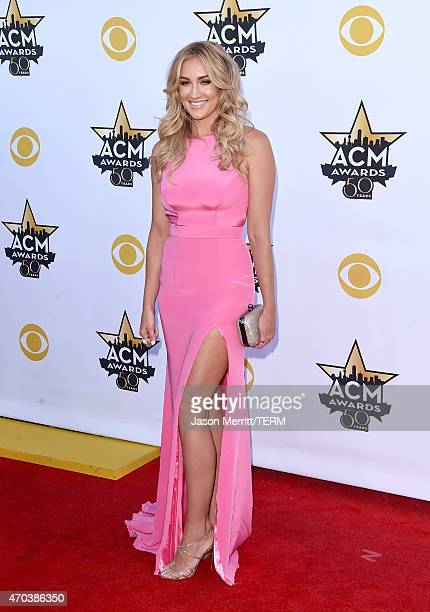 Brittany Kerr attends the 50th Academy of Country Music Awards at ATT Stadium on April 19 2015 in Arlington Texas