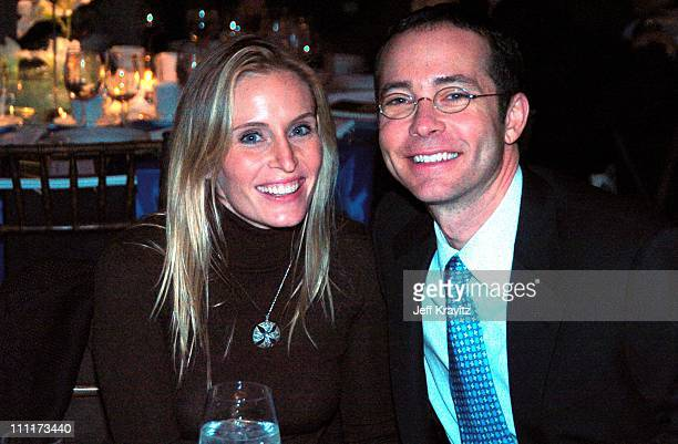 Brittany Lovett and Richard Lovett during Shoah Foundation Exclusive Event at Amblin Entertainment on Universal Studios in Universal City California...
