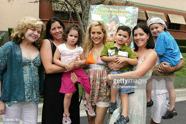 Brittany Murphy and Family during DisneyToon Studios Screening of the Soon to be Released 'Brother Bear 2' at The Walt Disney Studios in Burbank CA...