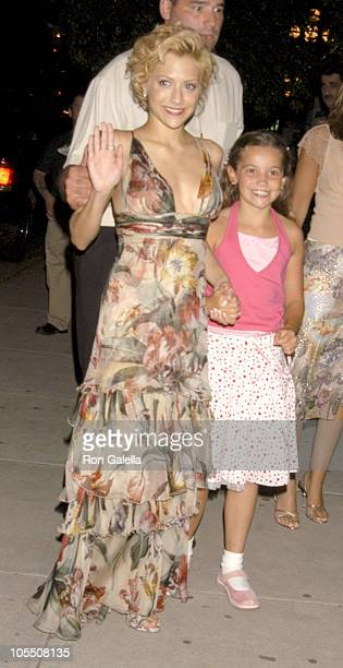 Brittany Murphy and Katie Murphyguest during 'Little Black Book' New York Premiere After Party at Guastavino's in New York City New York United States