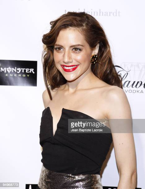 Brittany Murphy attends 'Across The Hall' Los Angeles Premiere at Laemmle's Music Hall 3 on December 1 2009 in Beverly Hills California