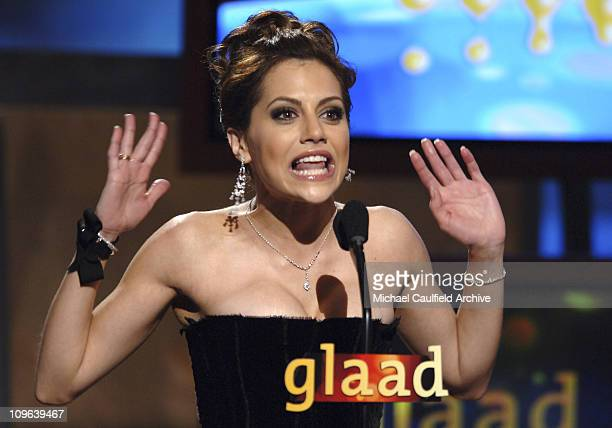 Brittany Murphy during 16th Annual GLAAD Media Awards Hollywood Show at Kodak Theater in Los Angeles California United States