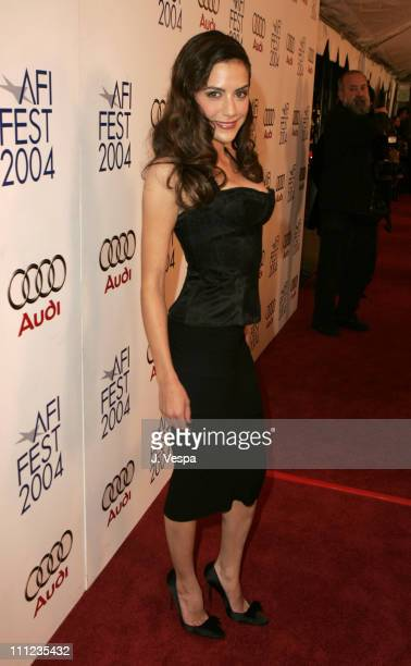 Brittany Murphy during 2004 AFI Film Festival 'Bad Education' Premiere Red Carpet at The Arclight in Hollywood California United States