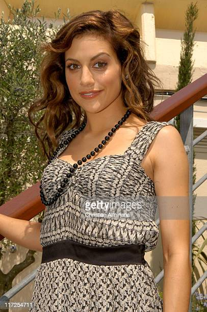 Brittany Murphy during 2005 Cannes Film Festival Miramax Luncheon Arrivals at The Majestic in Cannes France