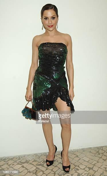 Brittany Murphy during 2005 MTV European Music Awards Lisbon Backstage in Lisbon Portugal