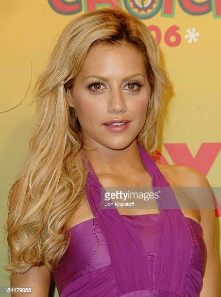 Brittany Murphy during 2006 Teen Choice Awards Press Room at Gibson Amphitheatre in Universal City California United States