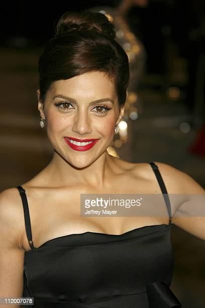 Brittany Murphy during 2007 Vanity Fair Oscar Party Hosted by Graydon Carter Arrivals at Mortons in West Hollywood California United States