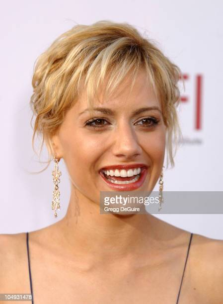 Brittany Murphy during 30th AFI Life Achievement Award A Tribute to Tom Hanks at Kodak Theatre in Hollywood California United States