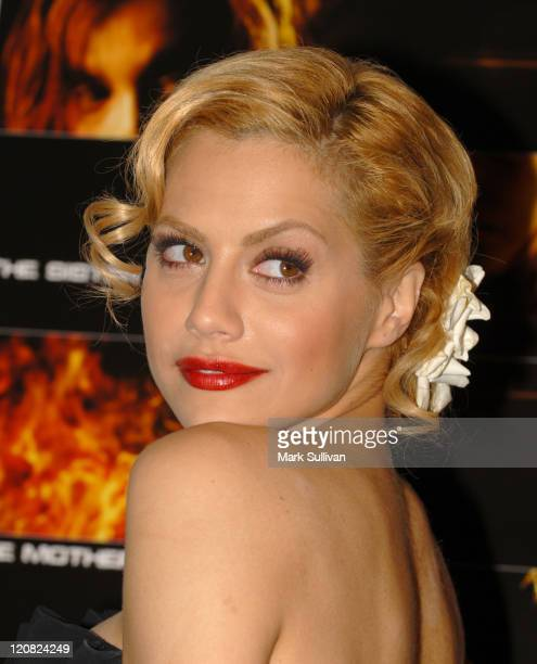 Brittany Murphy during AFI FEST 2006 World Premiere of 'The Dead Girl' Arrivals at AFI FEST Village/The Loft in Hollywood California United States