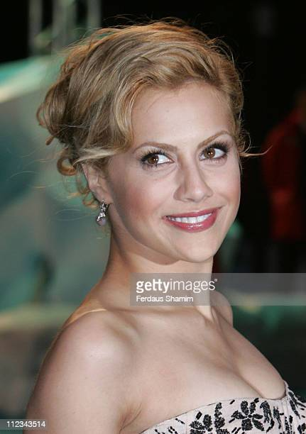 Brittany Murphy during 'Happy Feet' London Premiere Outside Arrivals in London Great Britain