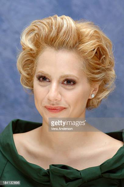 Brittany Murphy during 'Happy Feet' Press Conference with Brittany Murphy at Four Seasons in Beverly Hills California United States