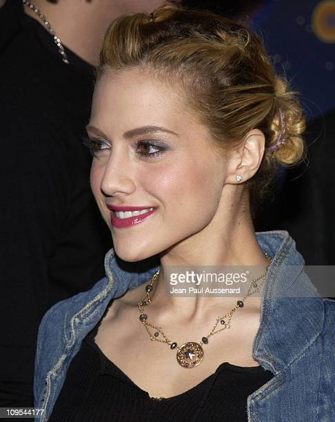 Brittany Murphy during HP and The Hollywood Reporter Celebrate 'The Future Through TV Film' Arrivals at Astra West in West Hollywood California...