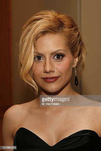 Brittany Murphy during IFP's 16th Annual Gotham Awards Backstage and Green Room at Pier 60 Chelsea Piers in New York City New York United States