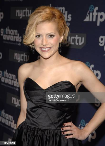 Brittany Murphy during IFP's 16th Annual Gotham Awards Red Carpet at Pier 60 Chelsea Piers in New York City New York United States