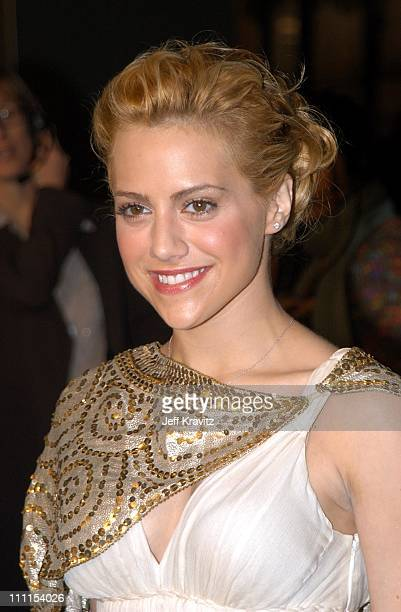 Brittany Murphy during Just Married Premiere at Cinerama Dome in Hollywood CA United States