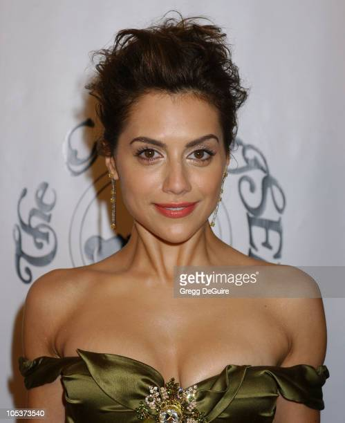 Brittany Murphy during Mercedes Benz Presents the 16th Annual Carousel Of Hope Gala Arrivals at Beverly Hilton Hotel in Beverly Hills California...