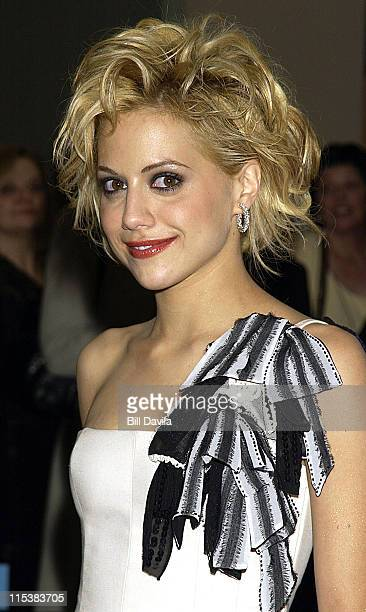 Brittany Murphy during 'Sidewalks of New York' New York Premiere at AMC Theater in New York City New York United States