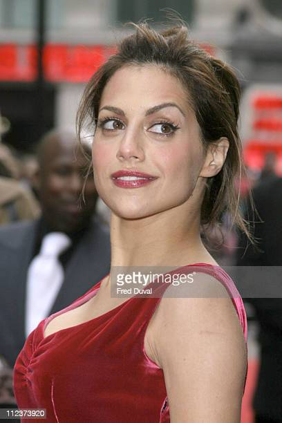 Brittany Murphy during 'Sin City' London Premiere at Leicester Square in London Great Britain