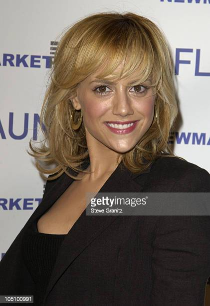 Brittany Murphy during 'Spun' Los Angeles Premiere at Cinerama Dome in Hollywood California United States