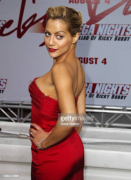 Brittany Murphy during 'Talladega Nights The Ballad of Ricky Bobby' Los Angeles Premiere Arrivals at Grauman's Chinese Theatre in Hollywood...