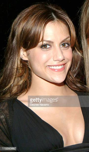 Brittany Murphy during The 37th Annual Party in the Garden Honoring David Rockefeller's 90th Birthday at The Museum of Modern Art in New York City...