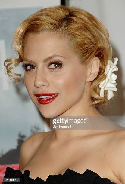 Brittany Murphy during 'The Dead Girl' Los Angeles Premiere Arrivals at ArcLight Rooftop Loft in Hollywood California United States