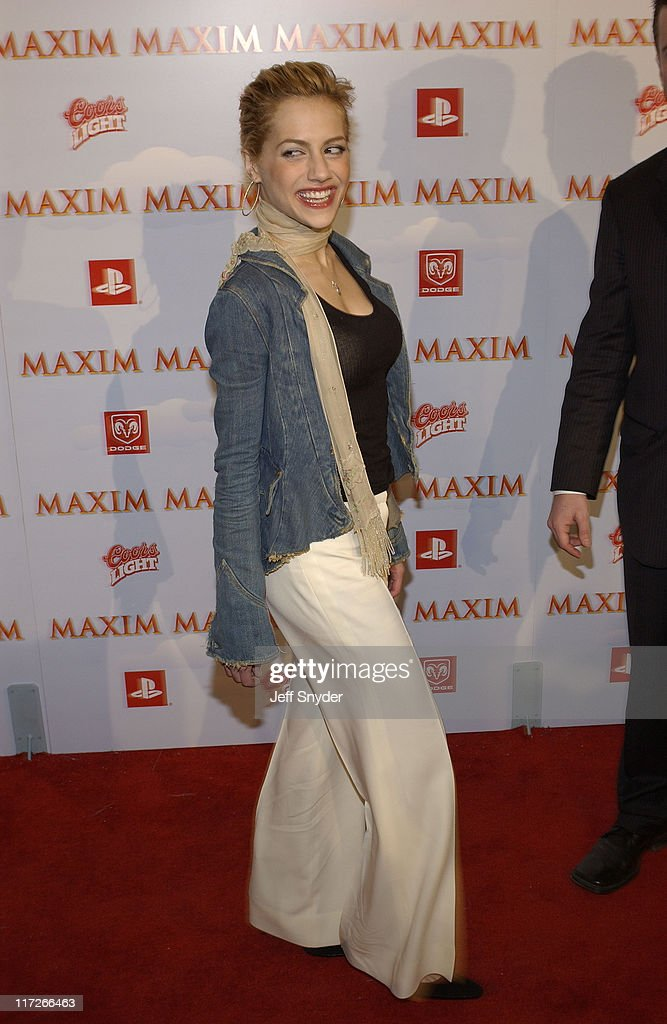 Brittany Murphy during The Maxim Party at Super Bowl XXXVII at The Old Wonderbread Factory in San Diego, CA.