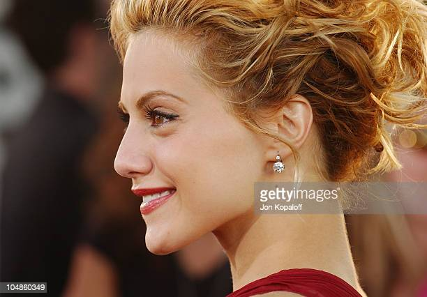 Brittany Murphy during 'Uptown Girls' Los Angeles Premiere at ArcLight Cinerama Dome in Hollywood California United States
