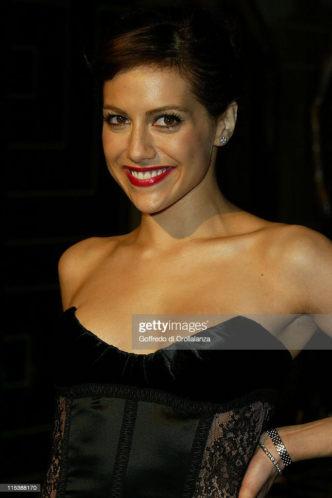 Brittany Murphy during Versace Store Relaunch Party at Versace Sloane Street in London, Great Britain.