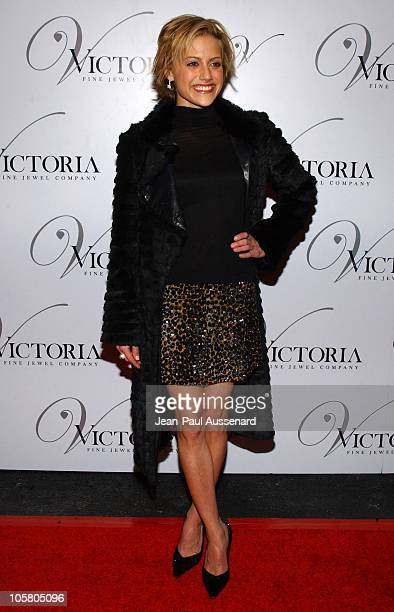 Brittany Murphy during Victoria Jewels Store Opening Arrivals at Victoria Jewels in Beverly Hills California United States