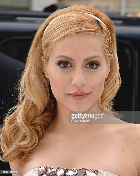 Brittany Murphy during World Premiere of 'Happy Feet' Arrivals at Chinese Theater in Hollywood California United States