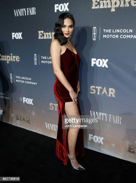 Brittany O'Grady attends 'Empire' 'Star' celebrate FOX's New Wednesday Night at One World Observatory on September 23 2017 in New York City
