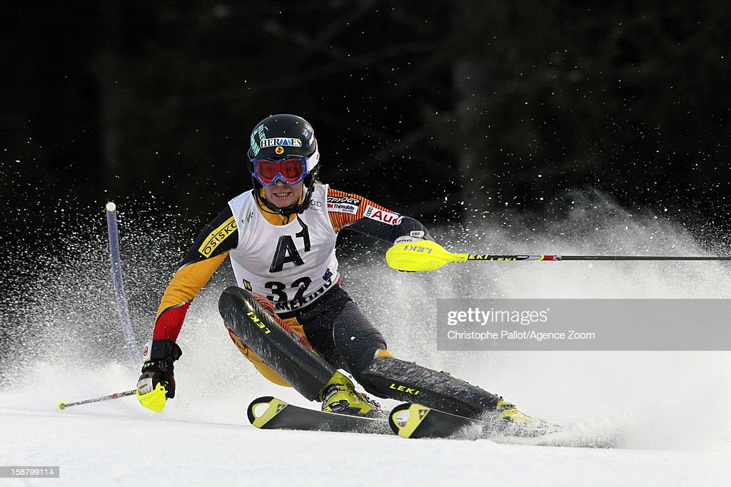Brittany Phelan of Canada competes during the Audi FIS Alpine Ski World Cup Women's Slalom on December 29, 2012 in Semmering, Austria.